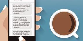 Comunicación mediante SMS con los familiares de los pacientes del área quirúrgica