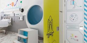 Habitaciones lunares para la humanización de la estancia