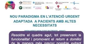 Model d'atenció col·laboratiu en xarxa, nou paradigma en atenció urgent adaptat a pacients amb altes necessitats