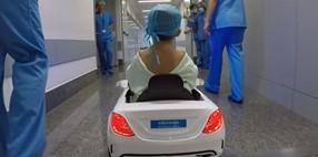 Reducción del estrés infantil antes de una operación