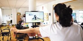 Realidad virtual para la práctica de ejercicio físico con más de 70 ejercicios